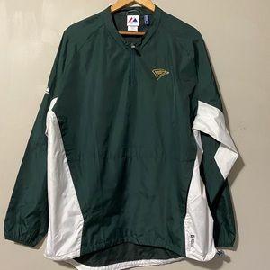 Majestic Lightweight Zip Up Jacket size L